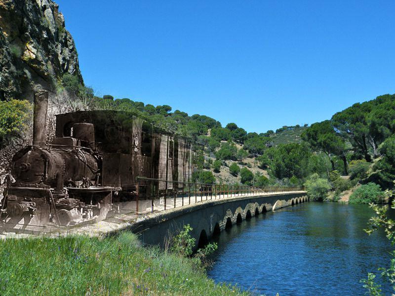 La Vía Verde del ferrocarril